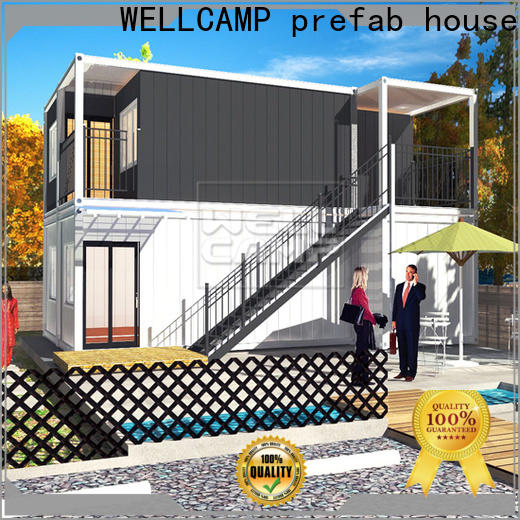 WELLCAMP, WELLCAMP prefab house, WELLCAMP container house premade shipping container home designs in garden for sale