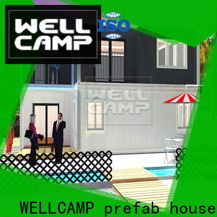 WELLCAMP, WELLCAMP prefab house, WELLCAMP container house containerhomes labour camp