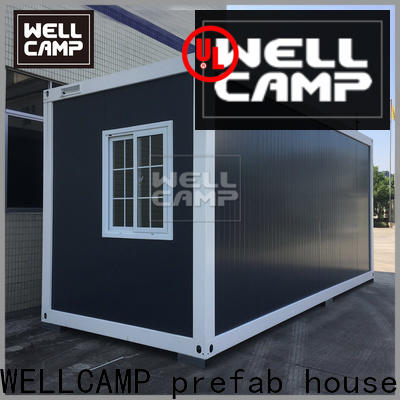 WELLCAMP, WELLCAMP prefab house, WELLCAMP container house two glass best shipping container homes apartment wholesale