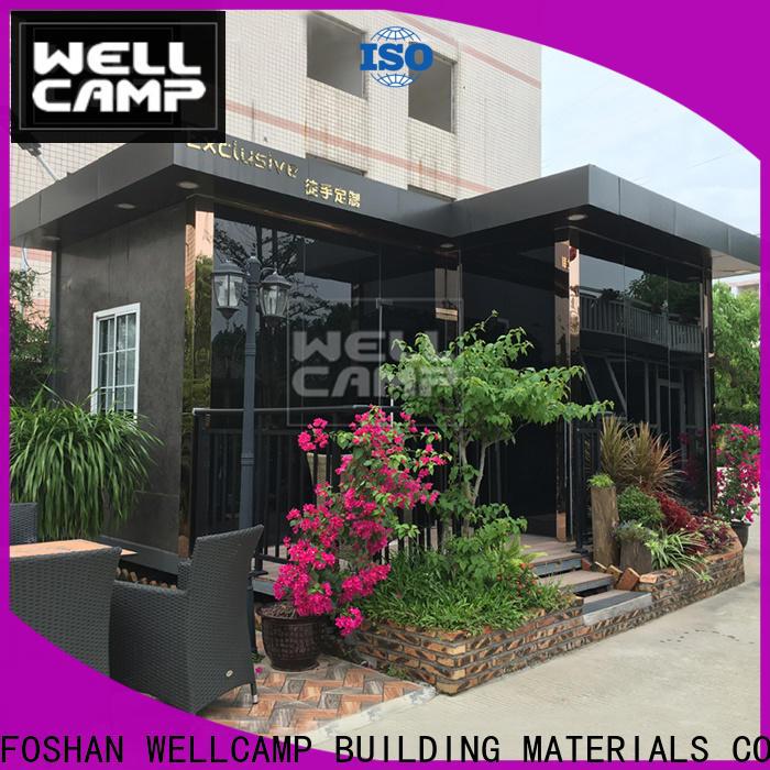 WELLCAMP, WELLCAMP prefab house, WELLCAMP container house modern modern container homes in garden for sale