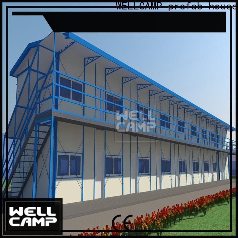 WELLCAMP, WELLCAMP prefab house, WELLCAMP container house prefabricated houses china price apartment for labour camp