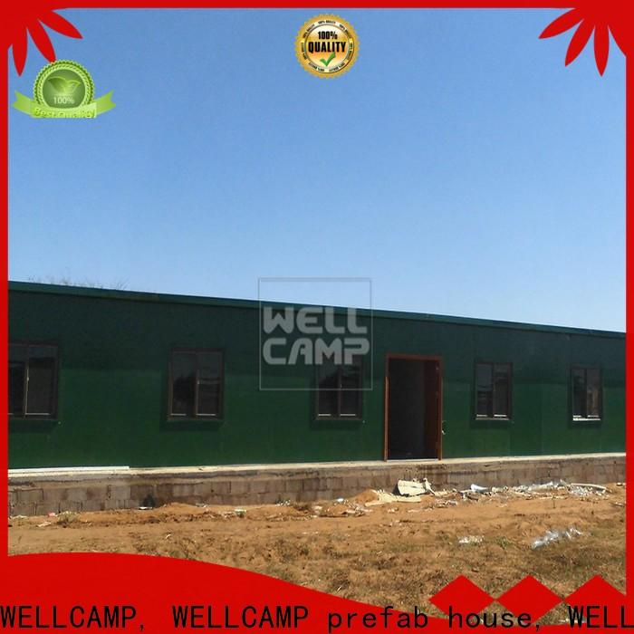 WELLCAMP, WELLCAMP prefab house, WELLCAMP container house mobile prefab guest house classroom for office