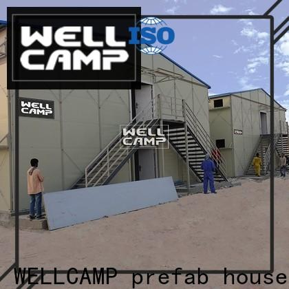 WELLCAMP, WELLCAMP prefab house, WELLCAMP container house prefabricated houses by chinese companies on seaside for office