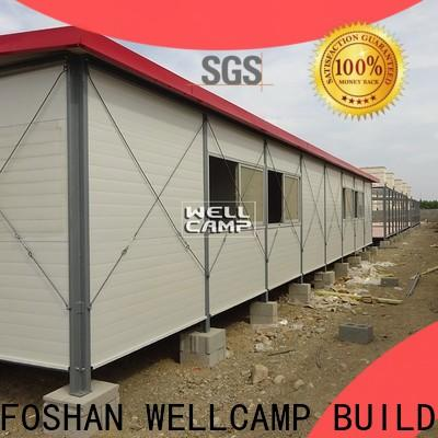 steel prefab guest house online for hospital