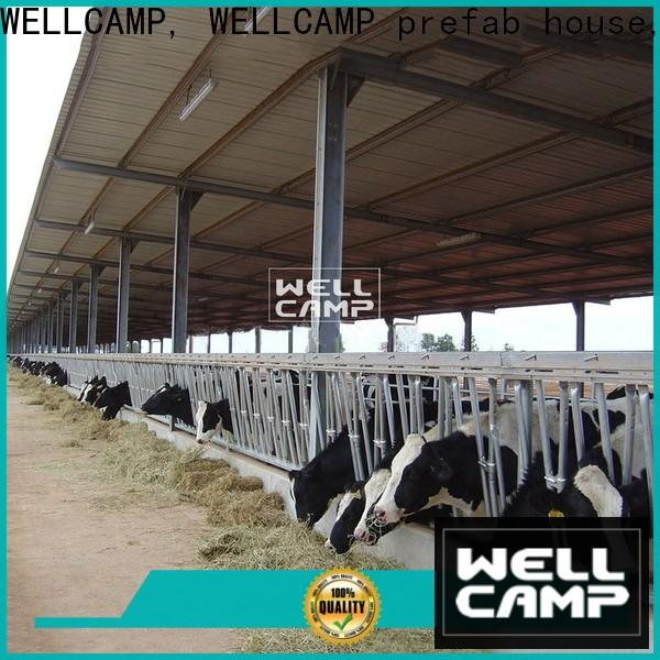panel steel sheds supplier wholesale
