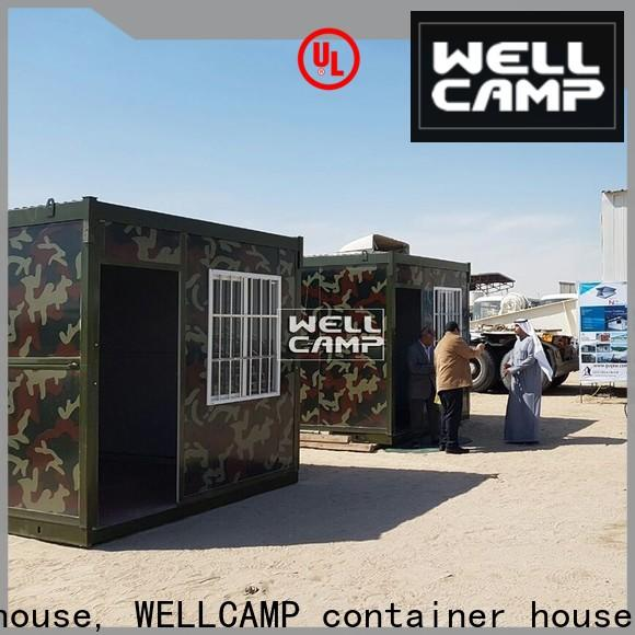 WELLCAMP, WELLCAMP prefab house, WELLCAMP container house modular container homes online for worker
