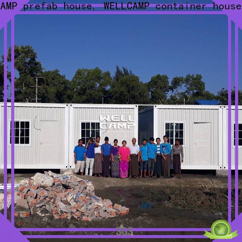 WELLCAMP, WELLCAMP prefab house, WELLCAMP container house container house builders home for renting
