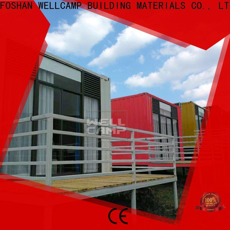 WELLCAMP, WELLCAMP prefab house, WELLCAMP container house modern shipping container homes apartment for hotel