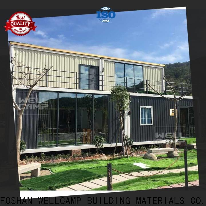 WELLCAMP, WELLCAMP prefab house, WELLCAMP container house folding shipping crate homes labour camp