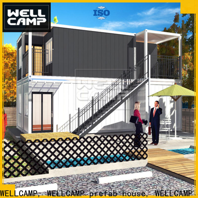 WELLCAMP, WELLCAMP prefab house, WELLCAMP container house storage container homes for sale labour camp for resort