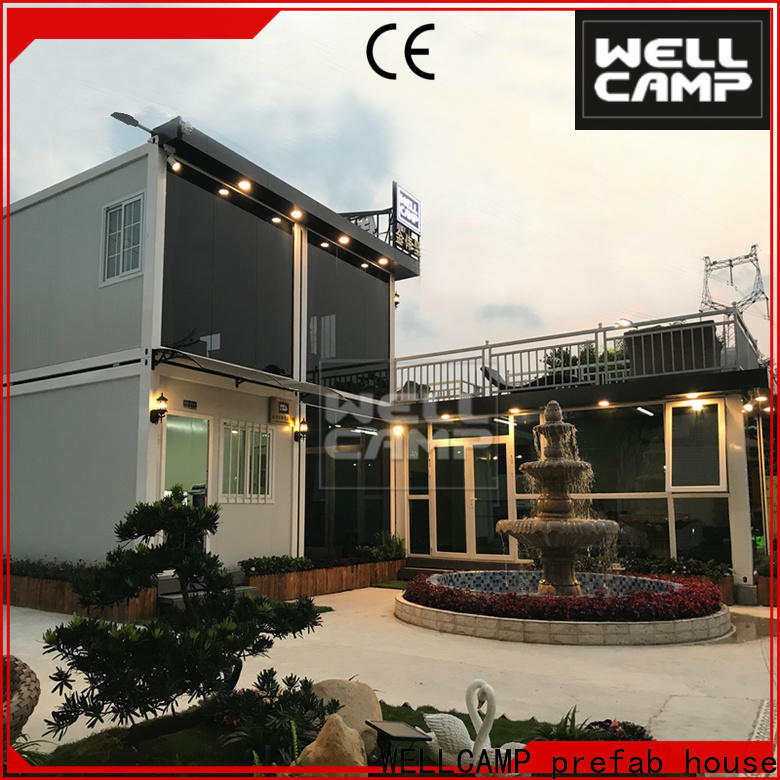 two floor shipping container home designs wholesale for hotel