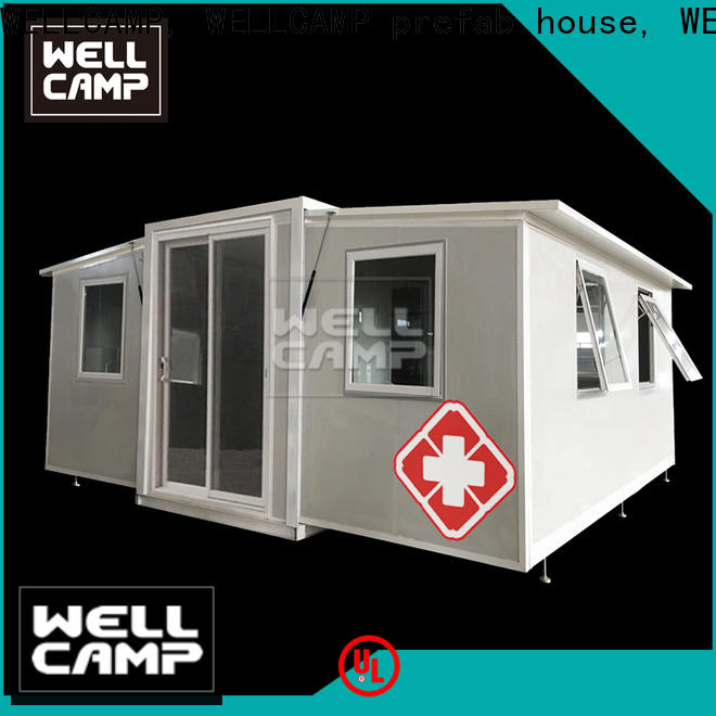 WELLCAMP, WELLCAMP prefab house, WELLCAMP container house container shelter wholesale for apartment