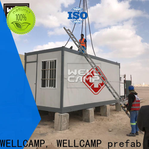 WELLCAMP, WELLCAMP prefab house, WELLCAMP container house custom container homes manufacturer for sale