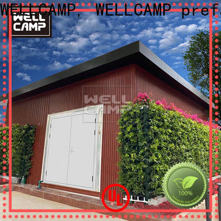 WELLCAMP, WELLCAMP prefab house, WELLCAMP container house light steel shipping crate homes wholesale for sale