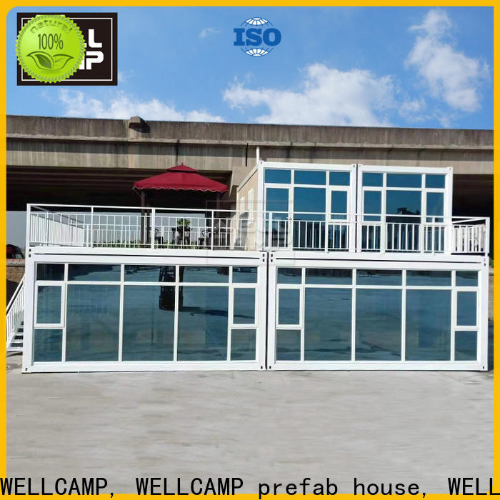 WELLCAMP, WELLCAMP prefab house, WELLCAMP container house manufactured shipping crate homes labour camp for resort