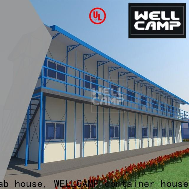 WELLCAMP, WELLCAMP prefab house, WELLCAMP container house galvanized prefabricated houses china price on seaside for office