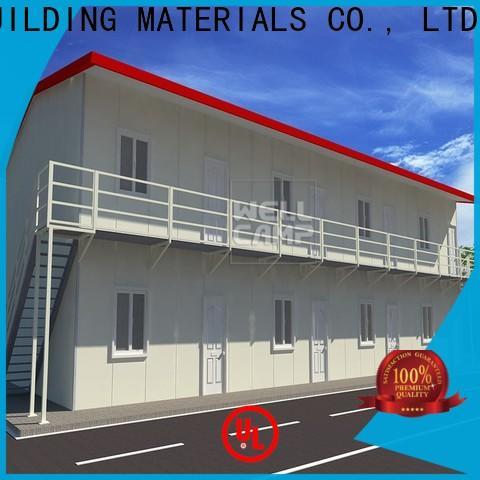 WELLCAMP, WELLCAMP prefab house, WELLCAMP container house prefabricated shipping container homes classroom for dormitory