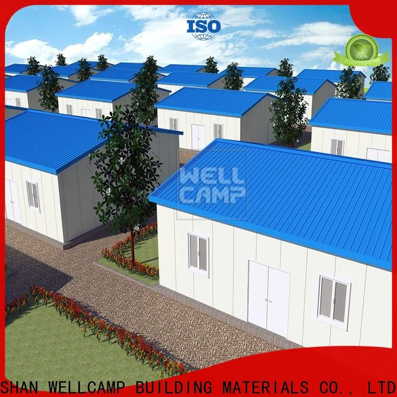 WELLCAMP, WELLCAMP prefab house, WELLCAMP container house prefabricated shipping container homes building for labour camp