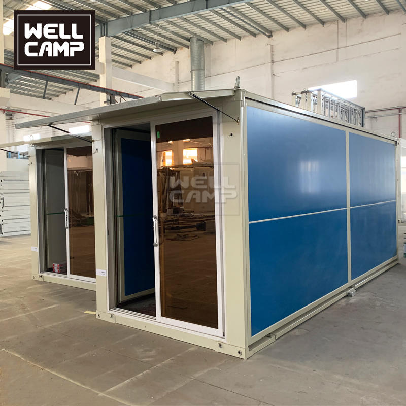 Ready Made Mobile Modern Tiny Small Folding Expandable Prefab Cabin Kit Home House for Sale