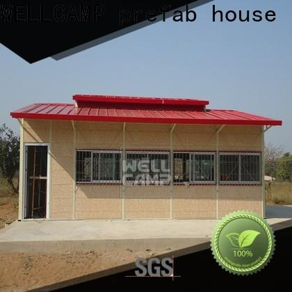 WELLCAMP, WELLCAMP prefab house, WELLCAMP container house temporary prefab houses china on seaside for accommodation worker