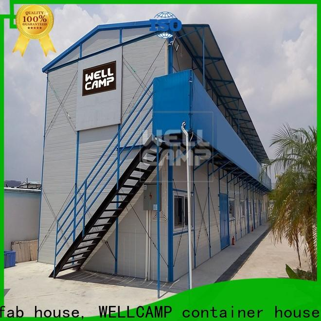 WELLCAMP, WELLCAMP prefab house, WELLCAMP container house mobile prefabricated houses by chinese companies apartment for office