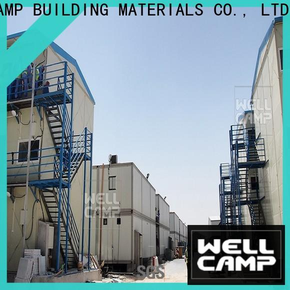WELLCAMP, WELLCAMP prefab house, WELLCAMP container house government prefab guest house apartment for labour camp