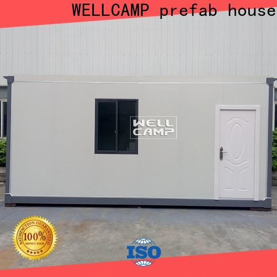 WELLCAMP, WELLCAMP prefab house, WELLCAMP container house steel container houses online for living