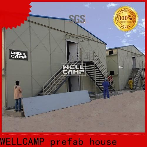 WELLCAMP, WELLCAMP prefab house, WELLCAMP container house prefabricated house companies wholesale for accommodation worker