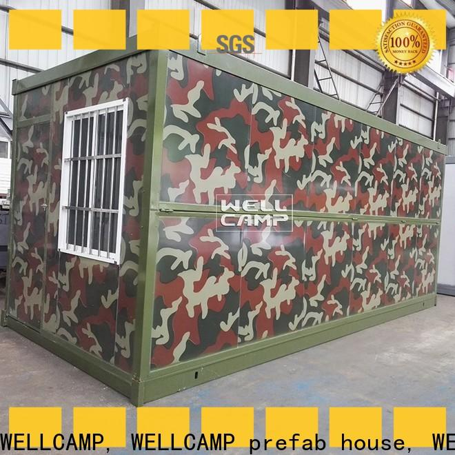 WELLCAMP, WELLCAMP prefab house, WELLCAMP container house metal container homes manufacturer for sale