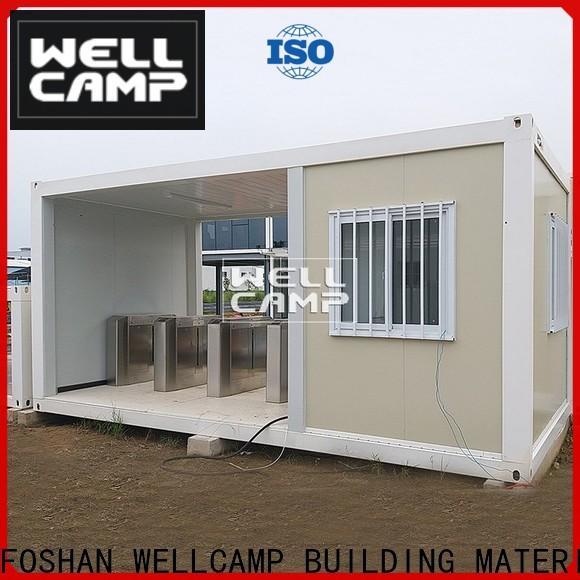 WELLCAMP, WELLCAMP prefab house, WELLCAMP container house roof shipping container house floor plans apartment online