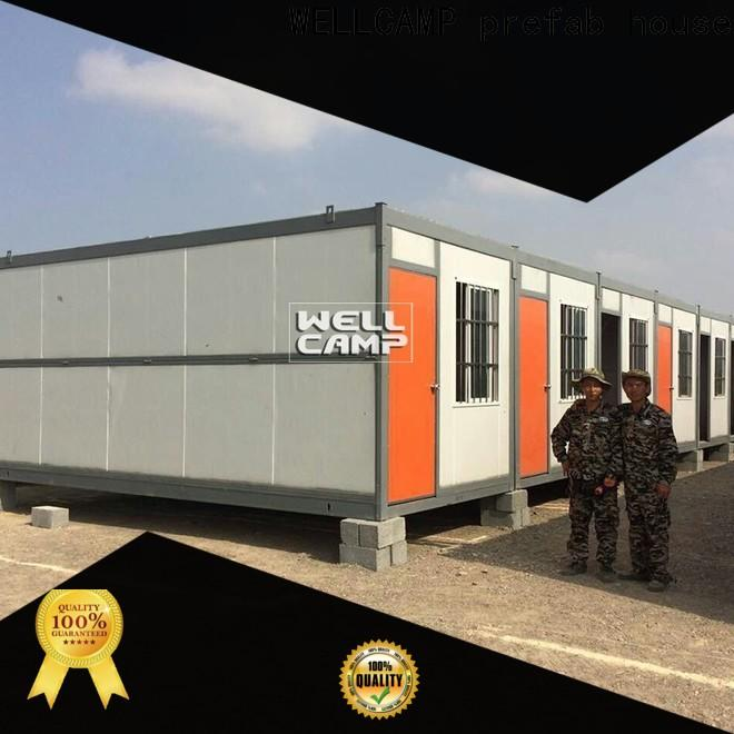 WELLCAMP, WELLCAMP prefab house, WELLCAMP container house modular container homes manufacturer for outdoor builder