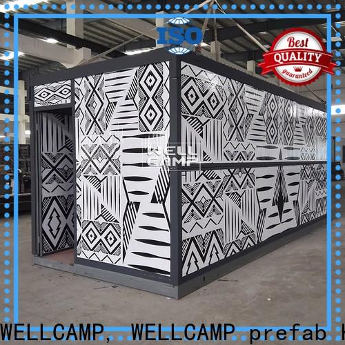 WELLCAMP, WELLCAMP prefab house, WELLCAMP container house custom container homes online for worker