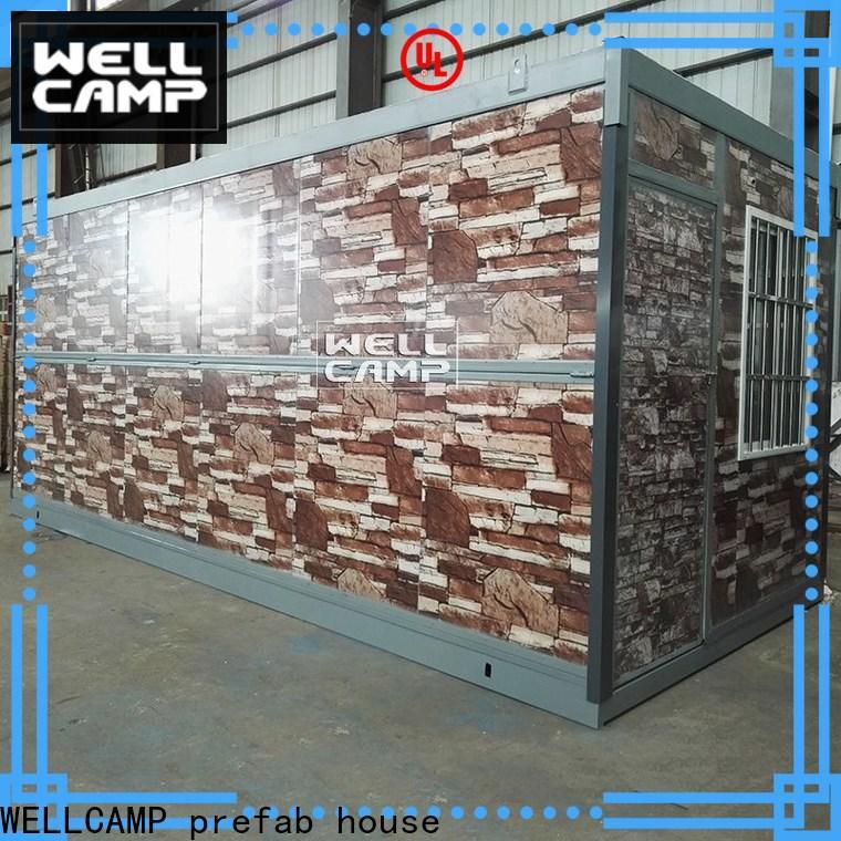 WELLCAMP, WELLCAMP prefab house, WELLCAMP container house pbs folding container house supplier for outdoor builder