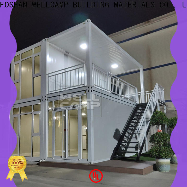 WELLCAMP, WELLCAMP prefab house, WELLCAMP container house china luxury living container villa wholesale for hotel