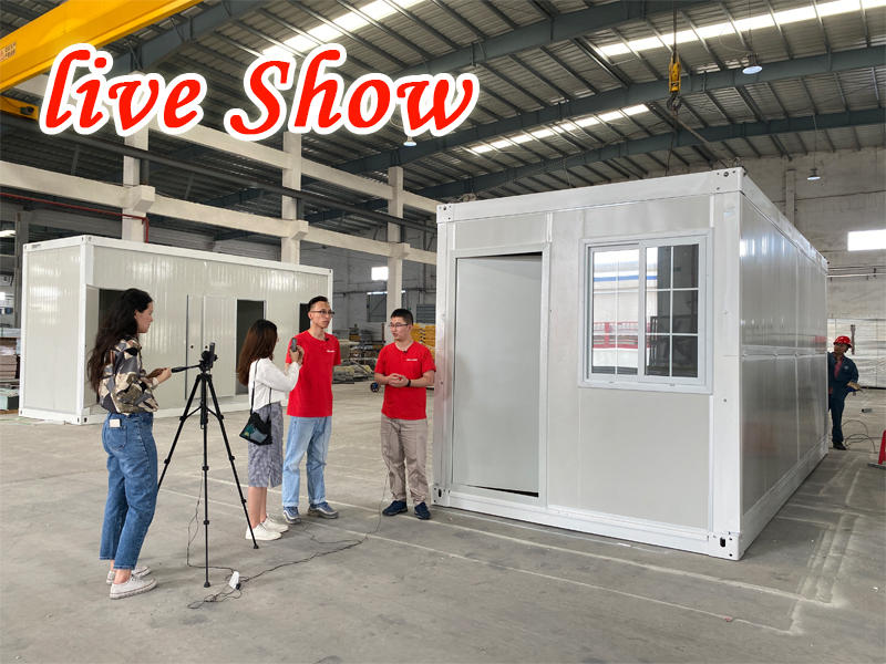 Wellcamp Factory Live Shows for Micro Cabin and Pre Built Tiny Homes