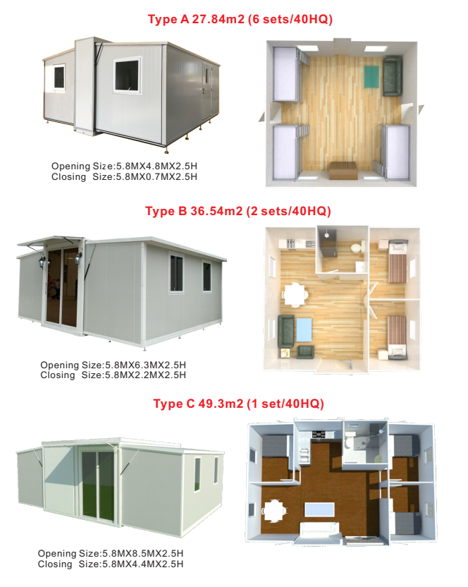 product-Prefabricated Outdoor Expandable 20ft 40ft Container Shops for Coffee Restaurant Store Bar-