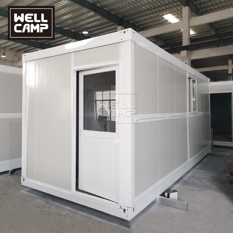 2021 Portable Mobile 20Ft Prefab Foldable Container House Plus for Office or Reading Room