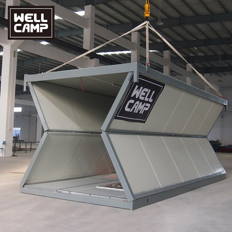 20FT Mobile Portable Outdoor Folding Container Shops for Coffee Restaurant or Snack