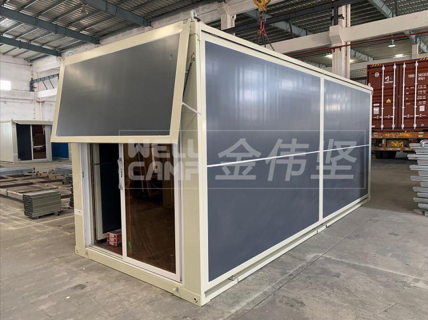 news-WELLCAMP, WELLCAMP prefab house, WELLCAMP container house-Luxury Expandable Container House-img