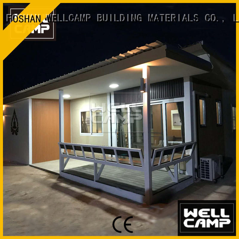WELLCAMP, WELLCAMP prefab house, WELLCAMP container house luxury living container villa suppliers wholesale for resort