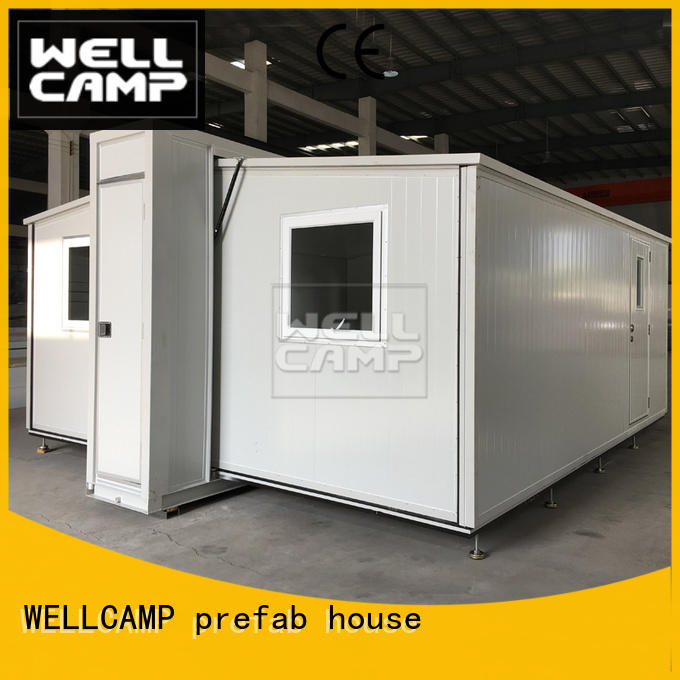 WELLCAMP, WELLCAMP prefab house, WELLCAMP container house container van house design online for wedding room