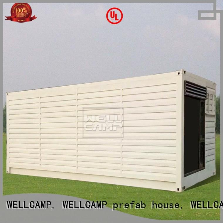 WELLCAMP, WELLCAMP prefab house, WELLCAMP container house comfortable best shipping container homes maker for sale