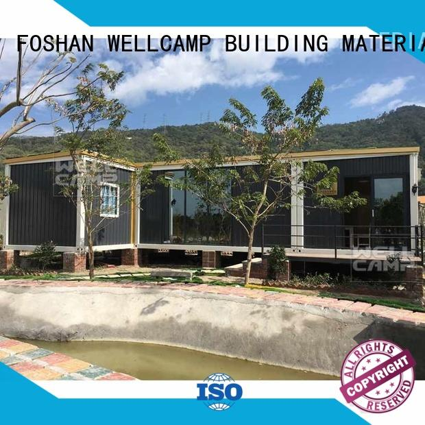WELLCAMP, WELLCAMP prefab house, WELLCAMP container house detachable china prefabricated luxury villa factory best for sale