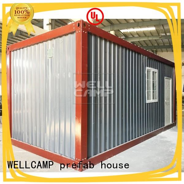 Container Home Apartment Corrugated Shape, Wellcamp D-19