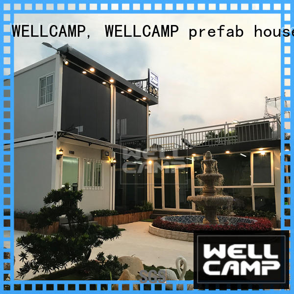 WELLCAMP, WELLCAMP prefab house, WELLCAMP container house light steel customized steel villa house for sale