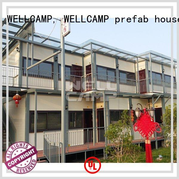 shipping container home designs in garden for resort WELLCAMP, WELLCAMP prefab house, WELLCAMP container house