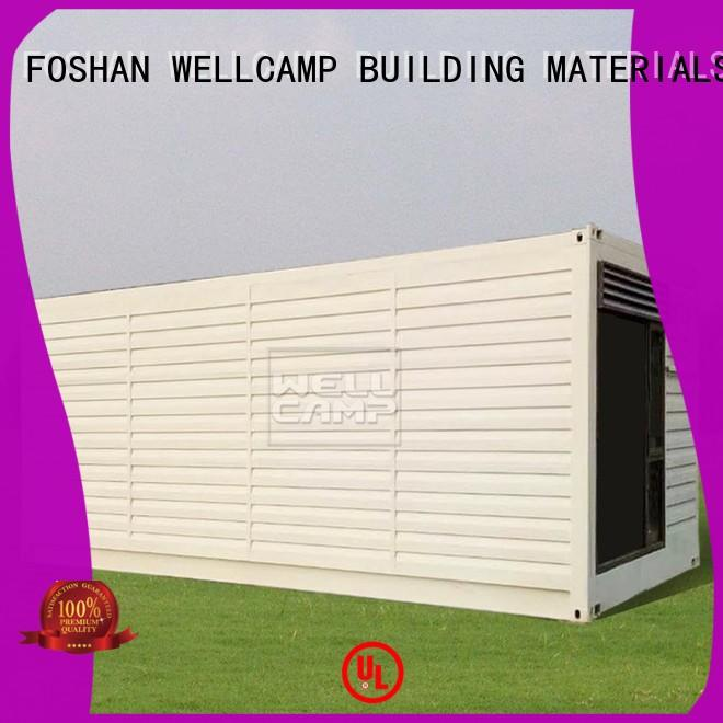 eco friendly shipping container home contractors maker for shop or store