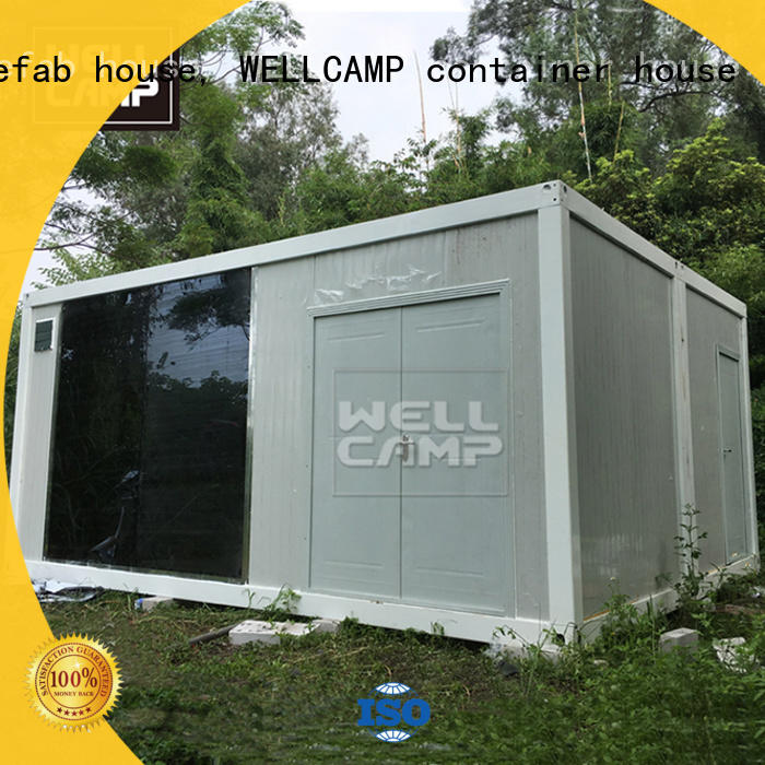 WELLCAMP, WELLCAMP prefab house, WELLCAMP container house wool crate homes with walkway wholesale