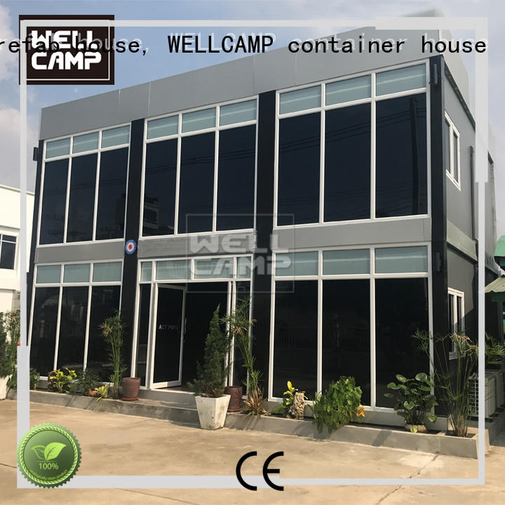 manufactured luxury living container villa suppliers labour camp for sale