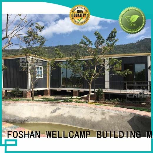 customized steel villa house for sale WELLCAMP, WELLCAMP prefab house, WELLCAMP container house
